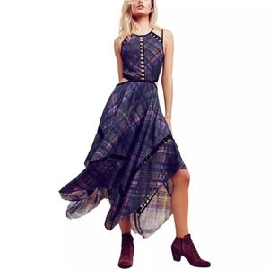 Dresses & Skirts - Glasgow Plaid Maxi Dress